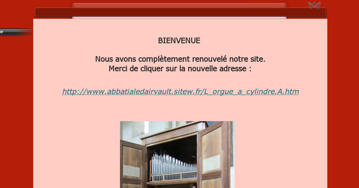 Orgue cylindre d 39 airvault l 39 orgue for Airvault 79